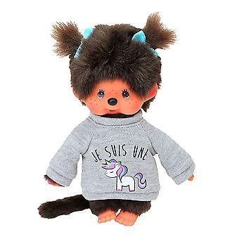 Monchhichi Unicorn Sweater Girl Plush Toy