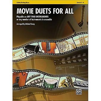 Filmduetter för alla spelbara på två instrument eller valfritt antal instrument i ensemble av andra Michael Story