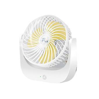 Office And Home Small Fan Desktop Three-speed Wind Convenient Mini Electric Fan