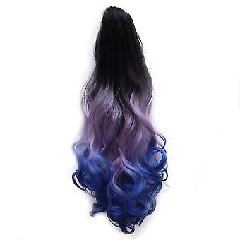 Gradient Ramp Claw Clip Horsetail Wig
