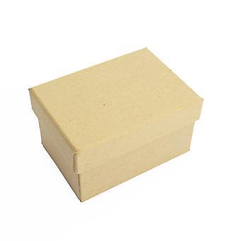 Boîte à papier rectangulaire de 10,5 cm avec couvercle à décorer | Boîtes papier