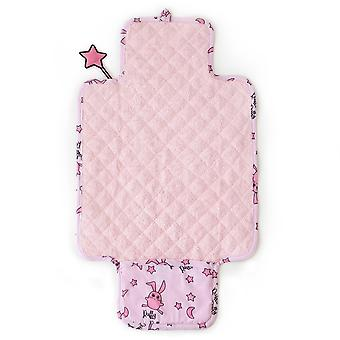Milk&Moo Chancin Baby Changing Pad, Waterproof Portable Changing Pad Clutch, Foldable Ultra Soft Diaper Mat, Lightweight Design For Baby Changing Station, Travel Changing Pad
