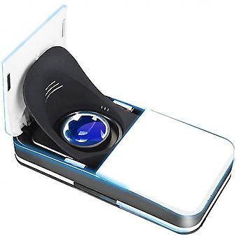 Fone de ouvido vr, óculos vr dobráveis que enviam óculos digitais 3d virtual realidade virtual portátil vr inteligente (4.7-6