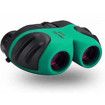 Binocular For Kids, Compact Waterproof Binocular Teen Boy Birthday Gifts(Green)