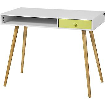 SoBuy Home Office Computer Table with Drawer,FWT24-W