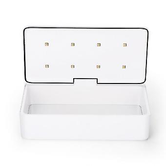 8w Uv Sterilizer Box z lampą LED Przenośne narzędzia do makijażu Zestaw do czyszczenia Uv