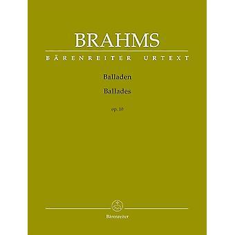 Brahms: Baladas Op10 Piano (BA9601)