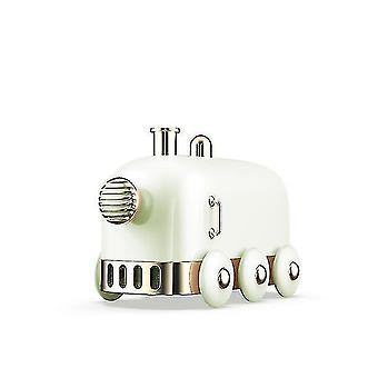 High quality 300ml ultrasonic humidifier retro mini train usb color led light|humidifiers green #4602