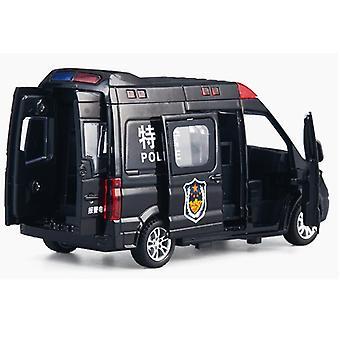 Simulazione Ambulanza Auto della polizia Post Express Giocattolo educativo per bambini Giocattolo in lega Modalità auto