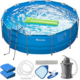 tectake svømmebasseng Merina - blå