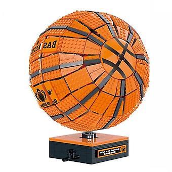 Expert Basketball Model Building Blocks Technical Sports Ball Bricks Assemble