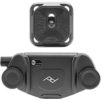 PEAKDESIGN Capture Camera Clip v3 Black with Plate