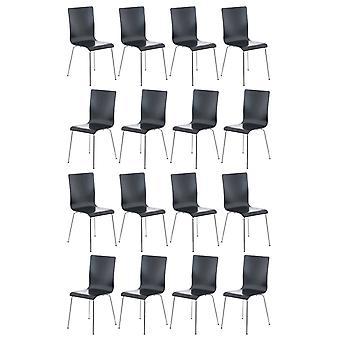 Esszimmerstuhl - Esszimmerstühle - Küchenstuhl - Esszimmerstuhl - Modern - Schwarz - Metall - 43 cm x 47 cm x 87 cm