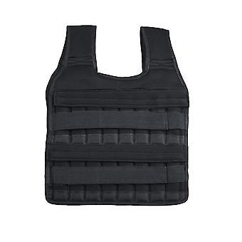 Homemiyn Gewichtdragend Vest Full Body Exercise Pols en Been, 1kg (Vest 44x55cm) (Zwart 1KG)