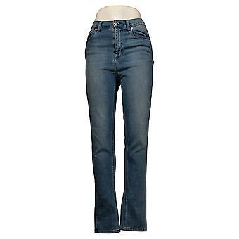 DG2 par Diane Gilman Jeans pour femmes Virtual Stretch Skinny Blue 560464
