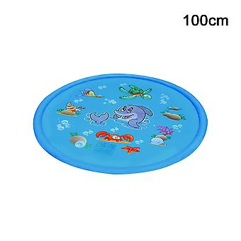 Childrens Water Splash Play Mat Inflatable Spray Water Cushion