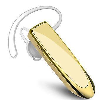 Bluetooth Earpiece V5.0 Wireless Handsfree Headset With Microphone For Iphone Android Laptop