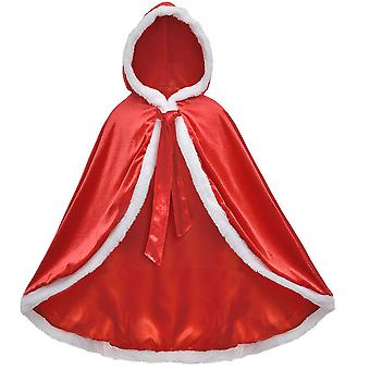 Fur Princess Hooded Cape Cloaks Costume For Girls Dress Up 212 Years