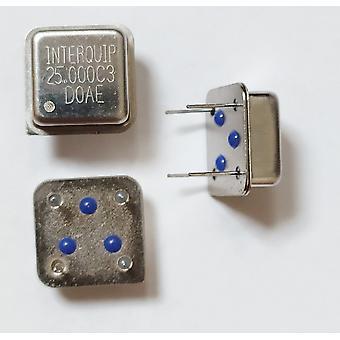 Line Active Crystal Oscillator Clock Square
