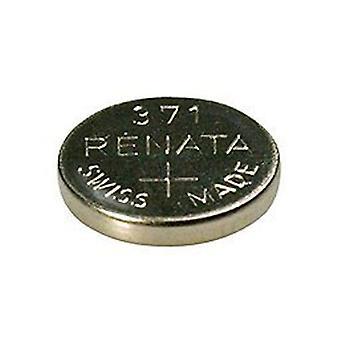 Renata 371 Mercury Free 1.55v Silver Oxide Watch battery (SR920SW) - Pack of 10