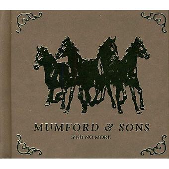 Mumford & Sons - Sigh No More- [CD] USA import