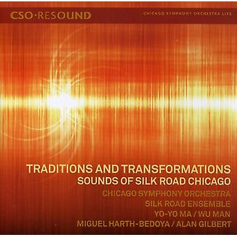 Traditions & Transformations - Traditions and Transformations: Sounds of Silk Road Chicago [CD] USA import