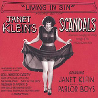 Janet Klein & Her Parlor Boys - Living in Sin [CD] USA import