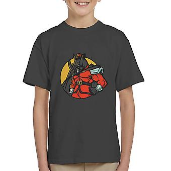 Rechtmatig kwaad M Bison Rhino Street Fighter Kid's T-Shirt