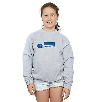 Blue Note Records Girls Simple Logo Sweatshirt