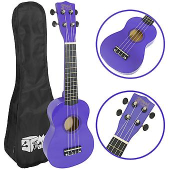 Mad About Soprano Beginners Ukulele with Bag, Pick & Carbon Strings -