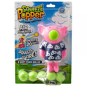 Cheatwell Games Pig Squeeze Popper - Soft Foam Shooter^^^