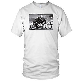Retro Motorcycle Motorbike Racer - Biker Kids T Shirt