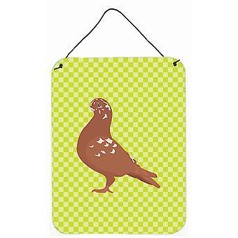 Chouette africaine Pigeon vert mur ou porte accrocher impressions