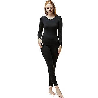TSLA Tesla Blank WHS200 Women's Microfiber Fleece Lined Top and Bottom Set