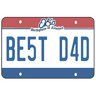Ohio - beste papa kenteken auto luchtverfrisser