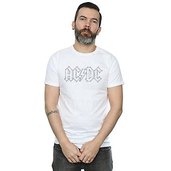 AC/DC Men's Black Outline Logo T-Shirt