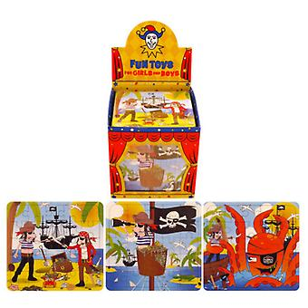 Henbrandt Childrens/Kids Mini Pirate Jigsaw Puzzle (Box Of 108)