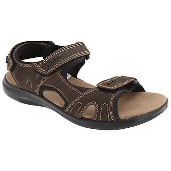 Roamers Mens 3 Touch festing polstret sport sandaler