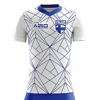 2020-2021 Finland Home Concept Football Shirt