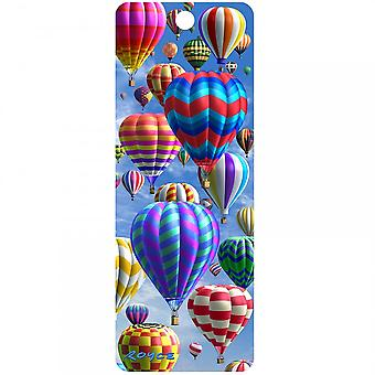 Cheatwell Games Royce 3D Bookmark - Hot Air Balloons