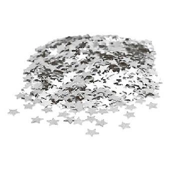 Конфетти серебра мини звезды - купить 1 получить 1 бесплатно