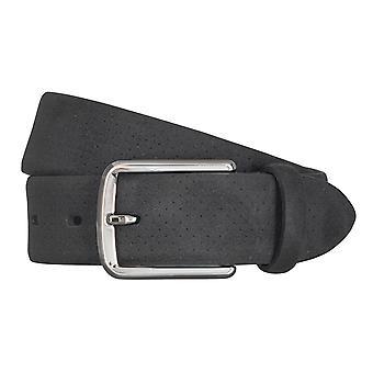 LLOYD Men's belt belts men's belts leather belt leather black 5041