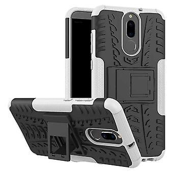 Hybrid Case 2teilig Outdoor Weiß für Huawei Mate 10 Lite Tasche Hülle Cover Schutz