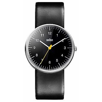 Braun Mens All Black Quartz BN0021BKBKG Watch