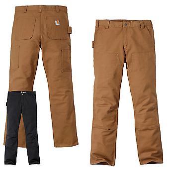 Pantaloni da uomo Carhartt Rugged Flex Straight Fit Duck Pantalone da lavoro a doppia parte anteriore