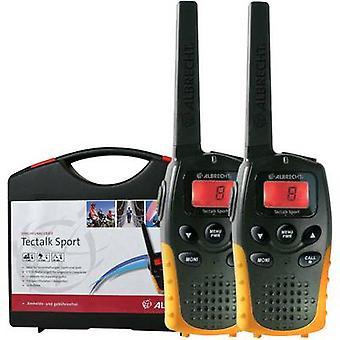 Albrecht Tectalk Sport 29865 PMR handheld transceiver 2-piece set