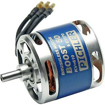 Pichler Boost 50 Model aircraft brushless motor kV (RPM per volt): 610