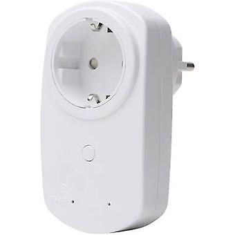 Kopp Free Control Socket Arctic valkoinen