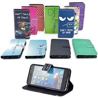 携帯電話バッグ ケース エイサー液体 Z330 のフリップ カバー ケース保護カバー ケース モチーフ財布