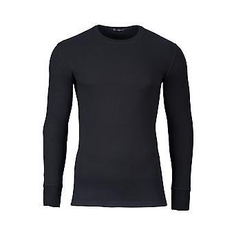 Jockey moderne thermische Langarm T-Shirt schwarz